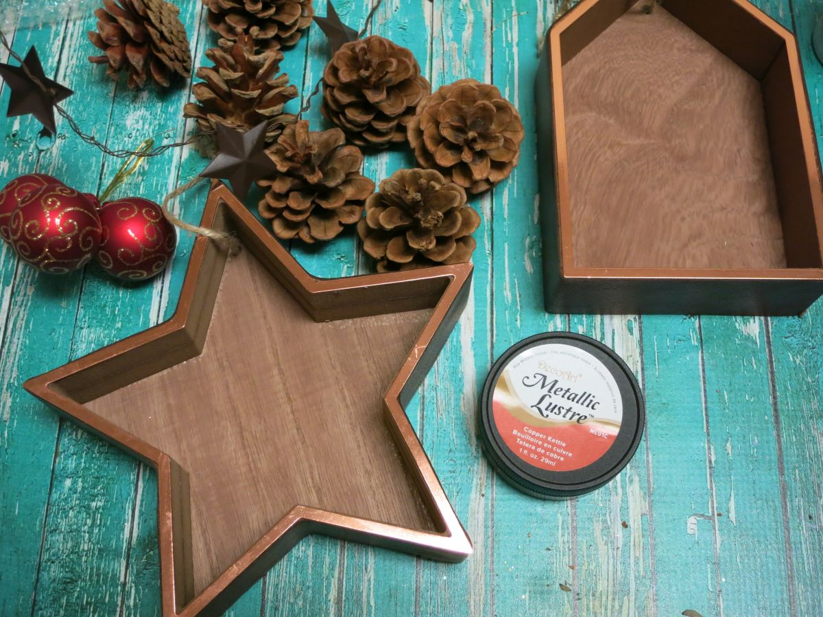 Shadowbox Christmas Ornament Tutorial Supplies