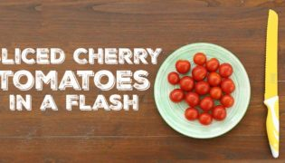 Sliced Cherry Tomatoes in a Flash