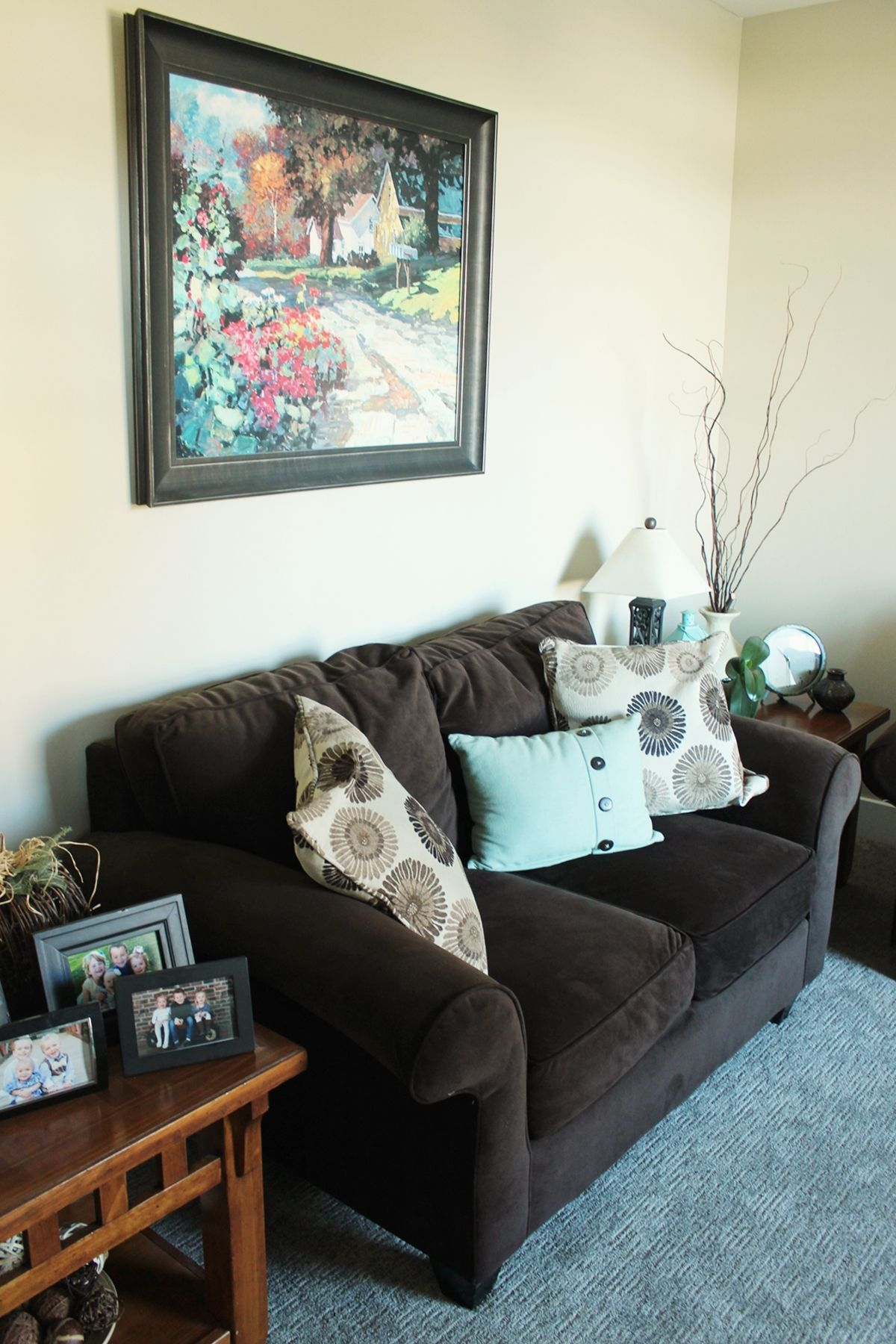 Small couch for family room