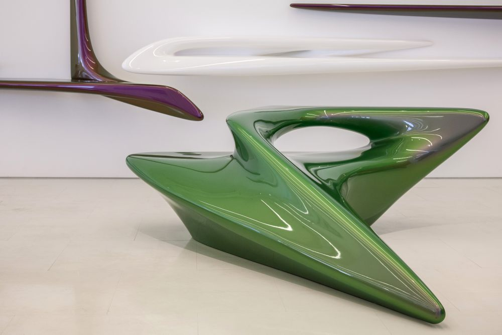 Smooth curved lines on The Seamless Collection by Zaha Hadid Architects