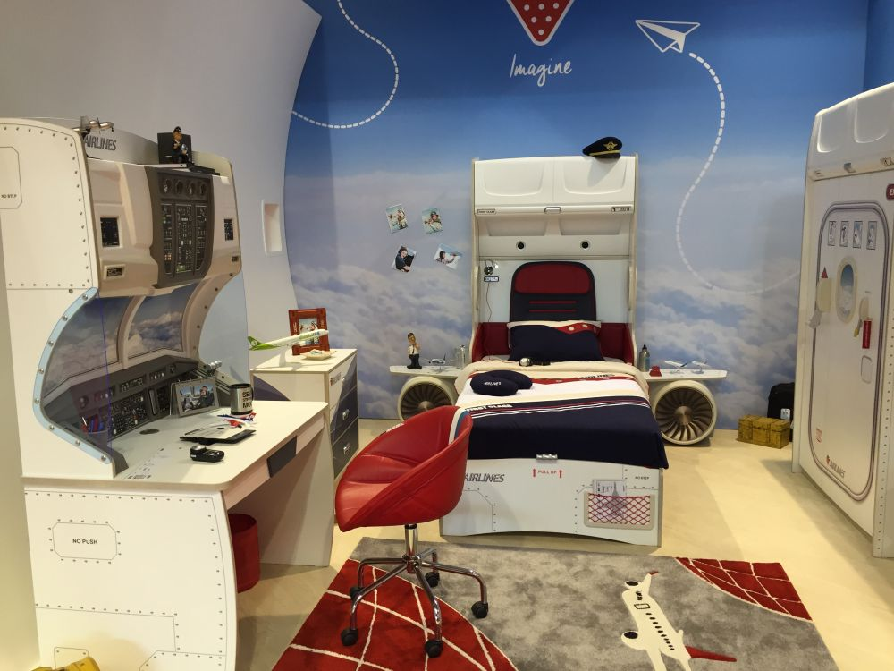 Space Mission Themed Kids Room