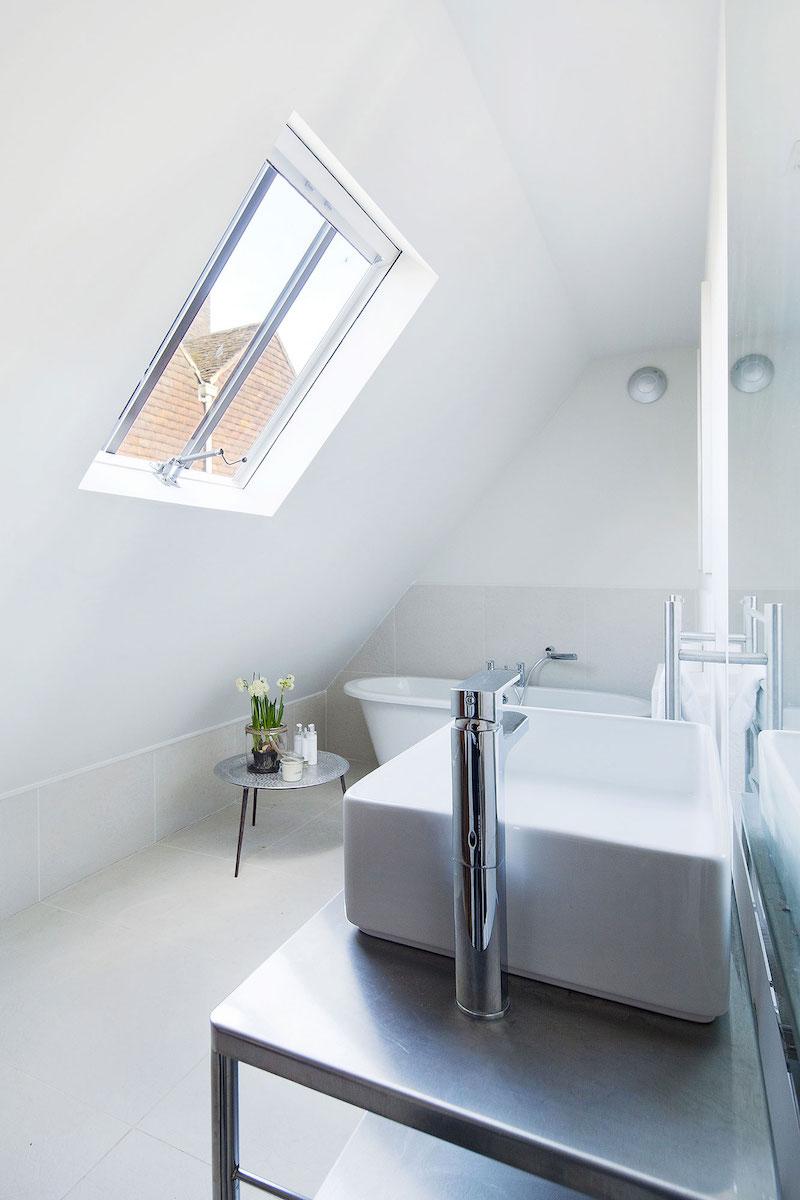 St Johns Ambulance bathroom skylight