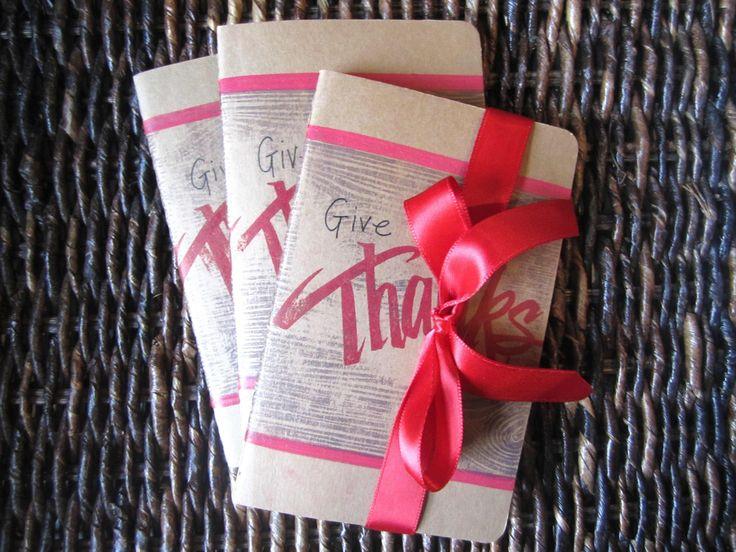 Thankfulness journals