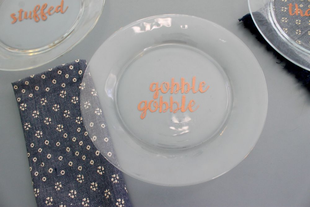 Thanksgiving Dinner Plates Craft