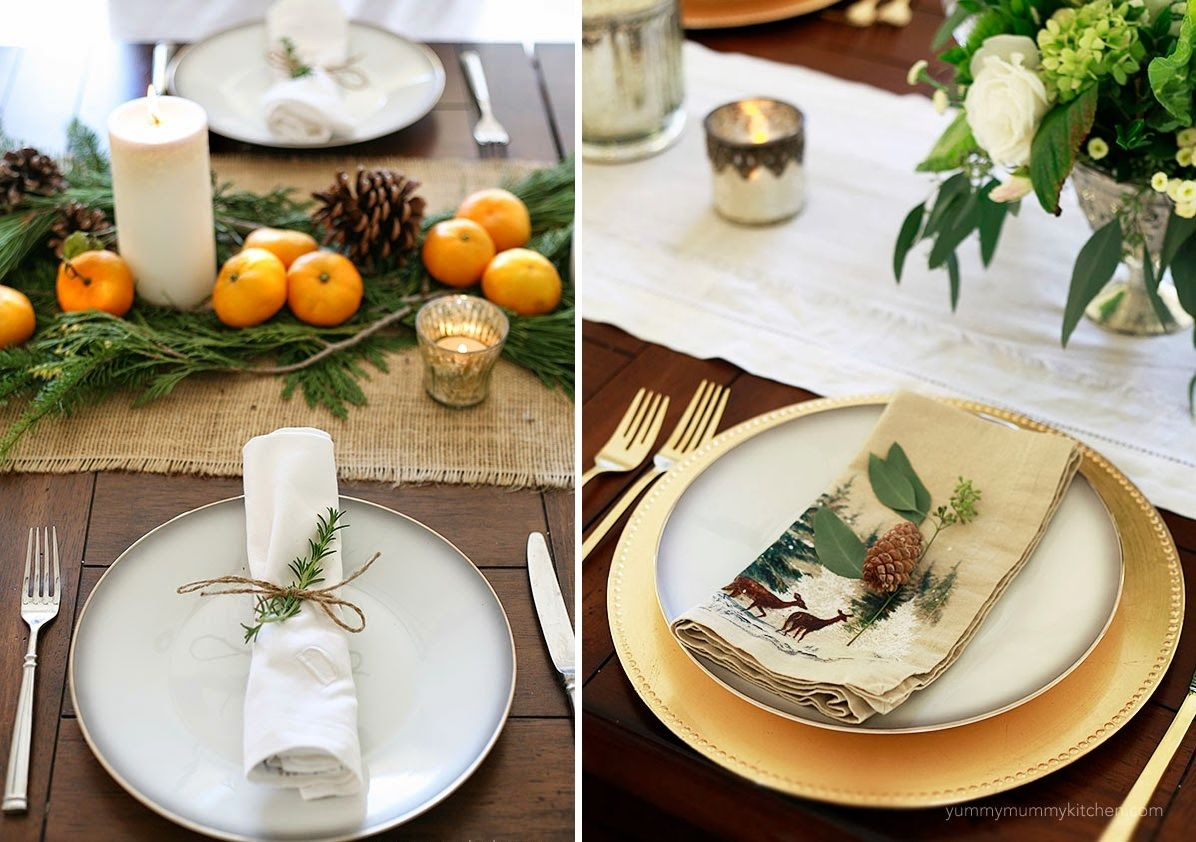 Thanksgiving plates decor