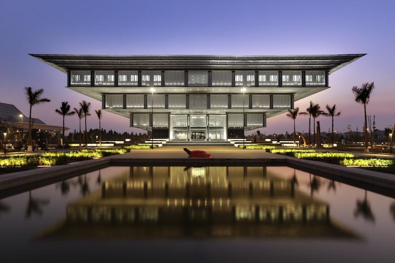 The original Hanoi Museum in Vietnam