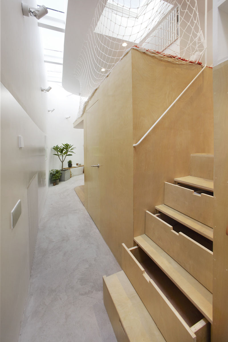 Tiny house in Dongcheng understair storage