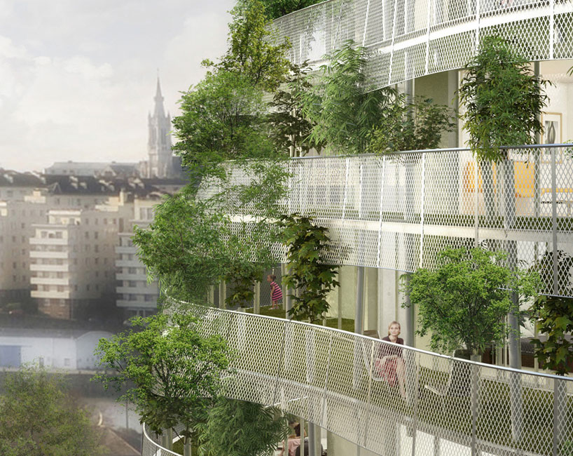 Great world structures with green facades and vertical gardens for Chaise 98 edouard francois