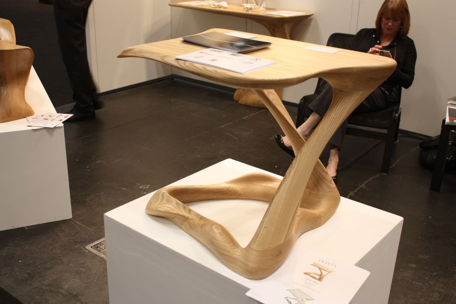 Tryst Curved Table from A Morph