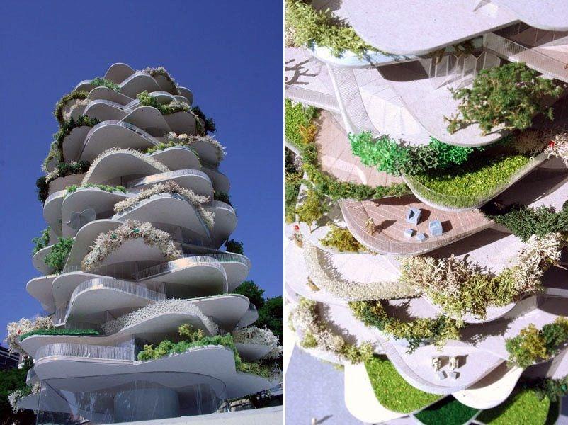 Urban Cactus Building