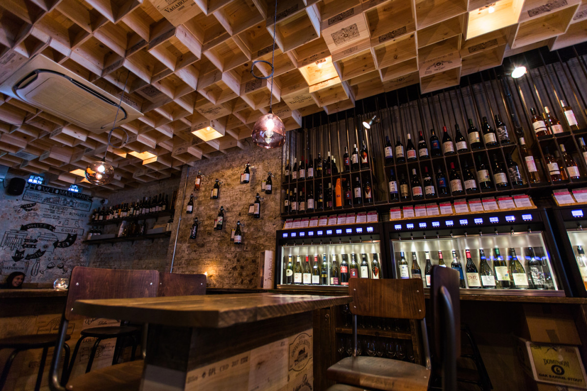 Vagabond Wines by Finch Interiors – best multiple bar award winner