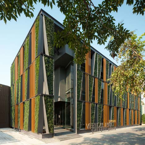 Vertical Living Gallery by Sansiri and Shma Vertical Facade
