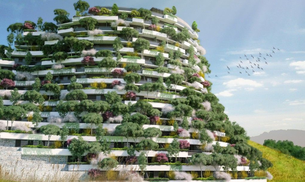 Vertical forest Mountain Hotel