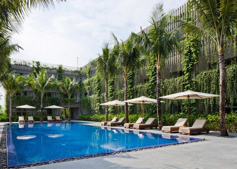 Vo Trong Nghia Architects Naman Retreat Interior