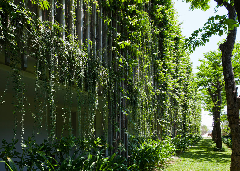 Vo Trong Nghia Architects Naman Retreat Vertical Garden