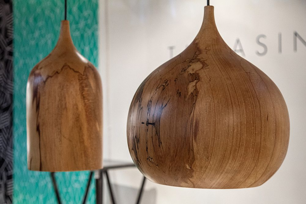 Wood Pendant Lights - Tree Pendant
