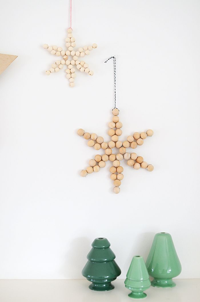 Wooden bead Star