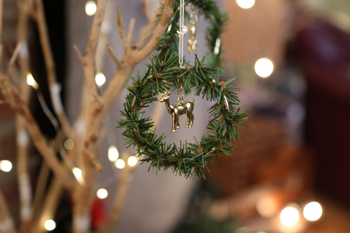 Wreath Tree Ornament