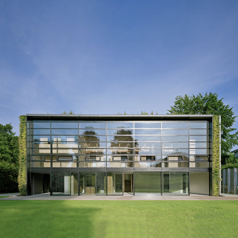 architects Samyn and Partners Front Yard House