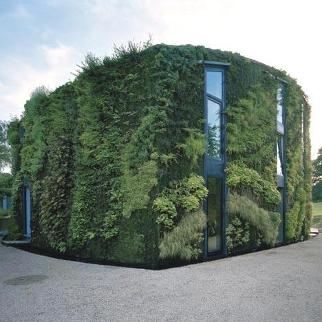architects Samyn and Partners Green Facade