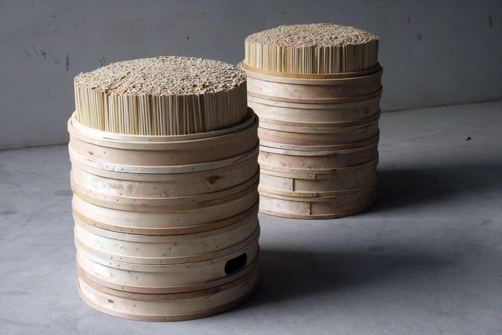 chopstick chair stool design