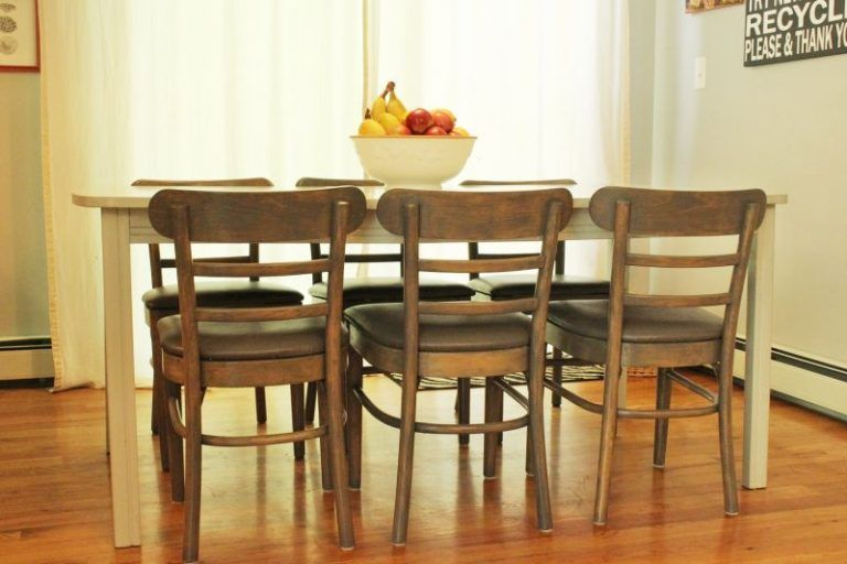 dining chairs revamp
