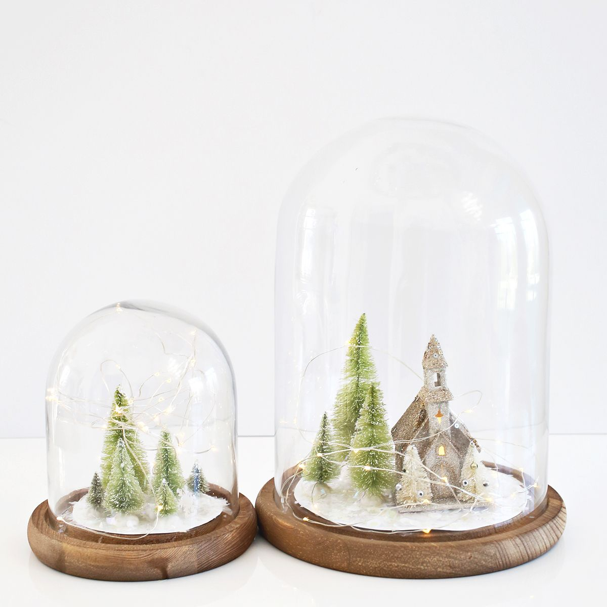 making holiday vignettes