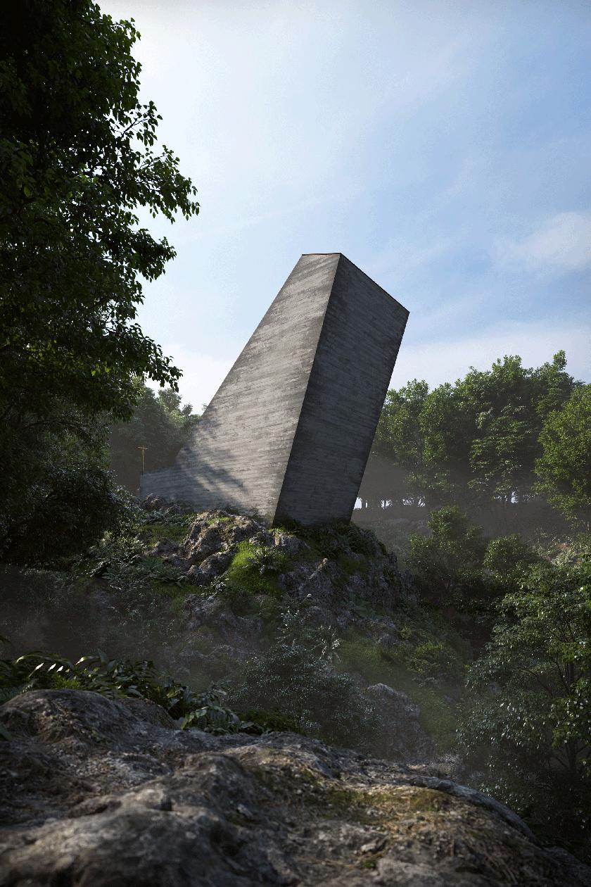 A Chapel - Joaquim Portela Arquitetos Concrete