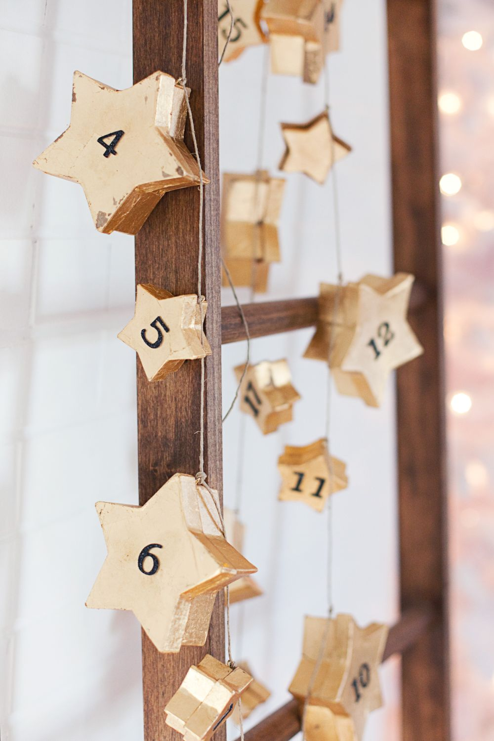 Advent Calendar Garland