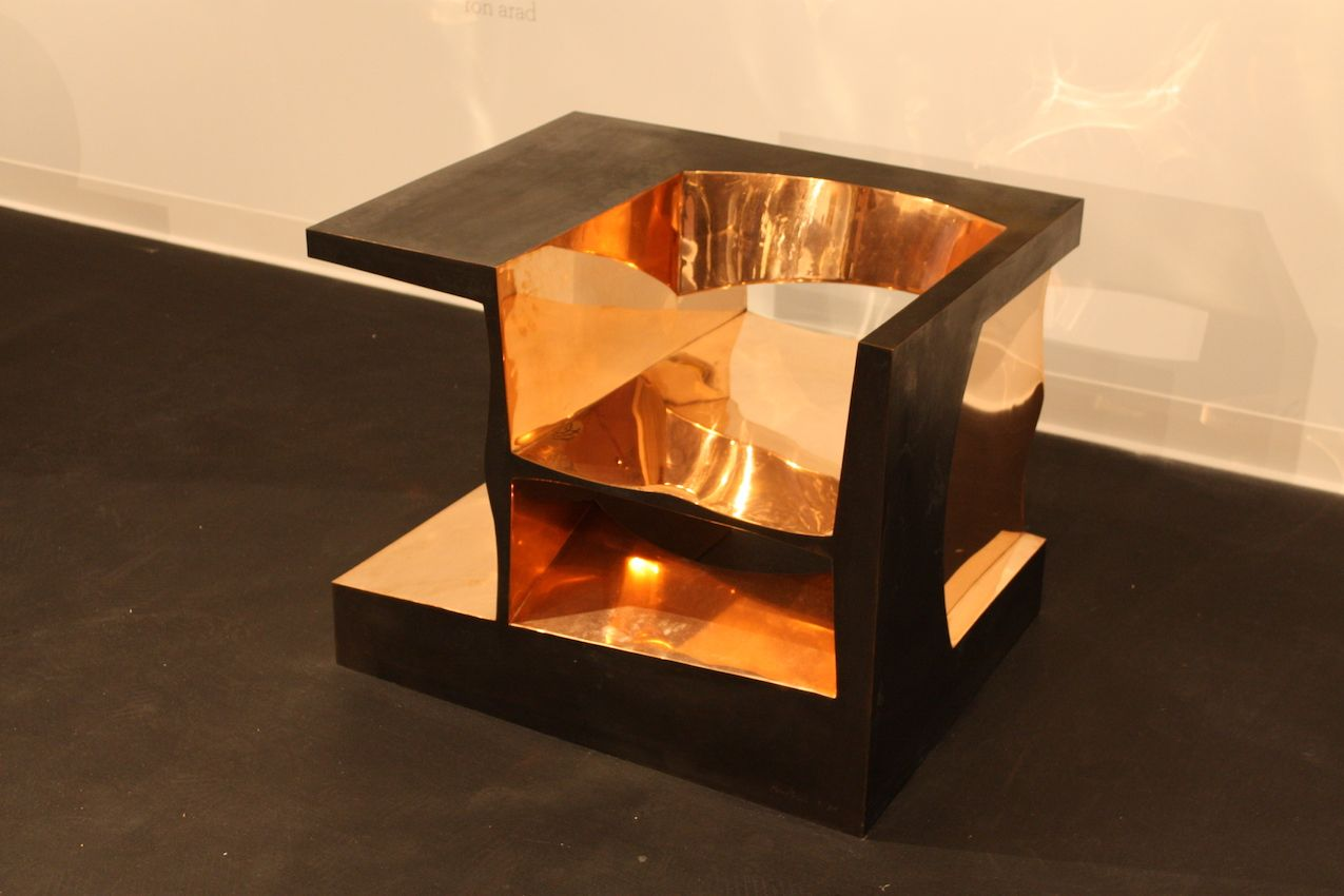 Although Arad often works in steel, this piece is made from copper.