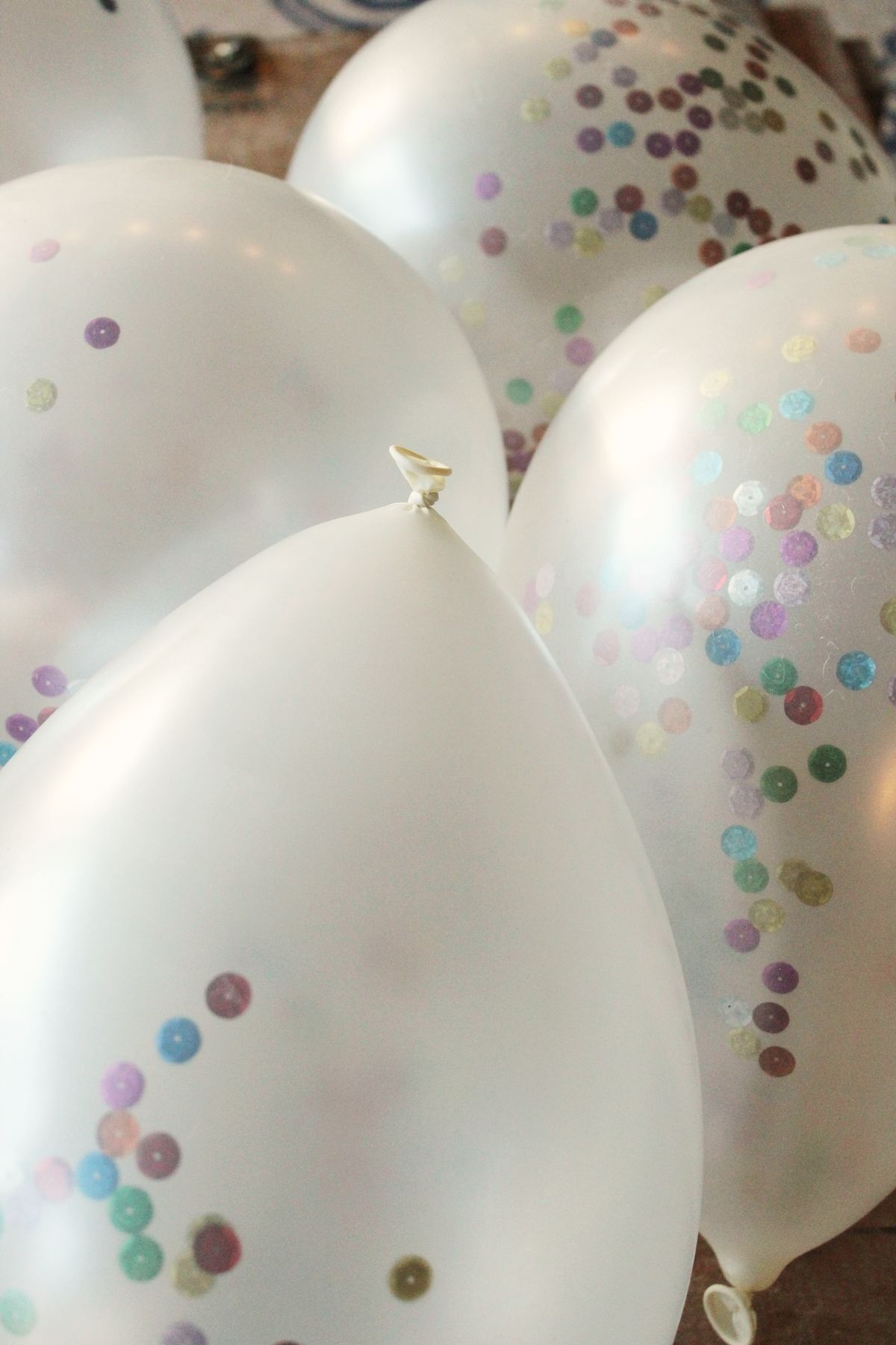Ballons for New Years DIY