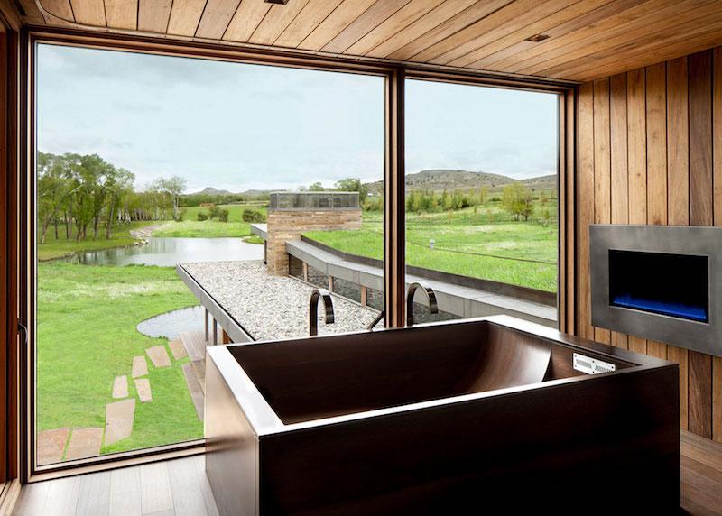 Big Timber Riverside Ranch bathroom view