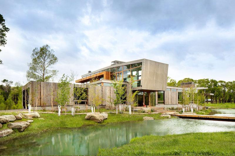 Big Timber Riverside Ranch facades