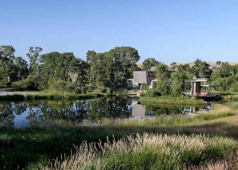 Big Timber Riverside Ranch landscape