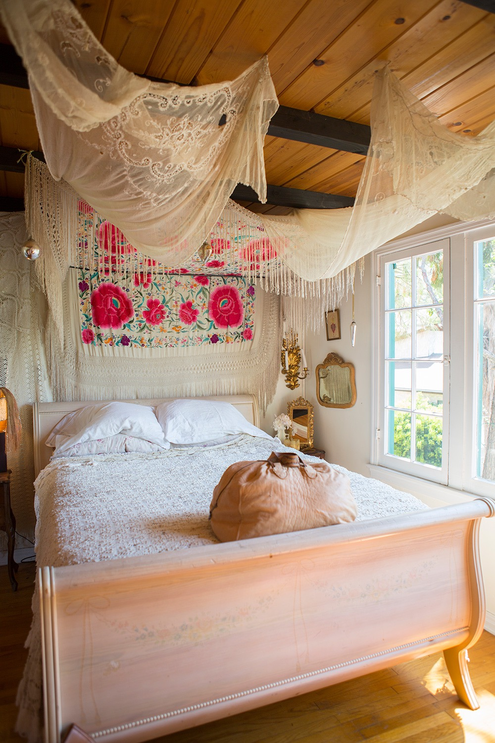 Boho Bedroom Ceiling Decor
