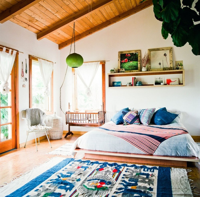 20 tips to turn your bedroom into a bohemian paradise Nature bedroom