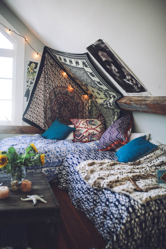 Boho Bedroom Nook