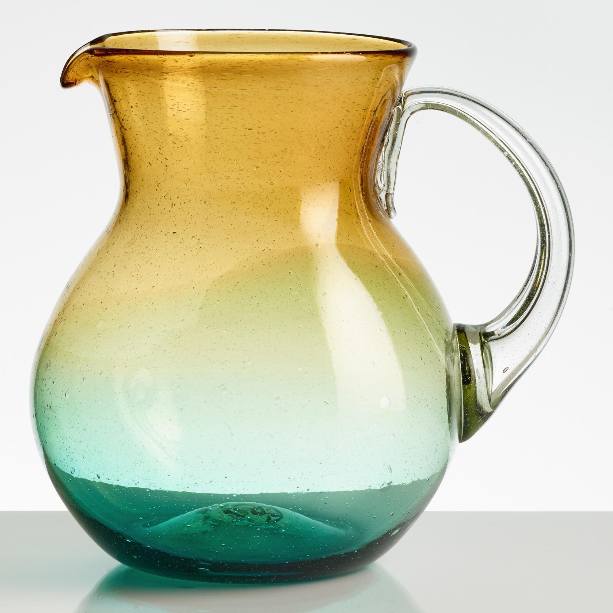 Bubble ombre pitcher