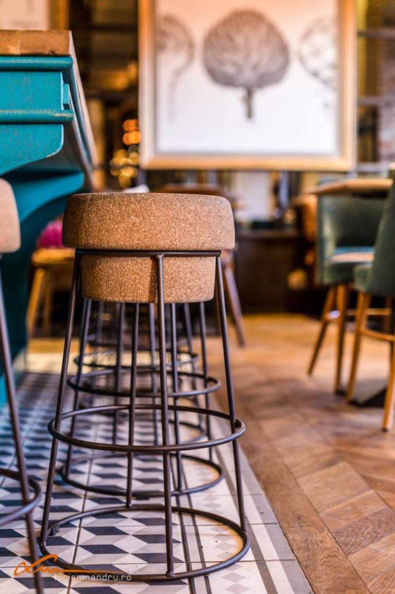 Bujole restaurant bar stools