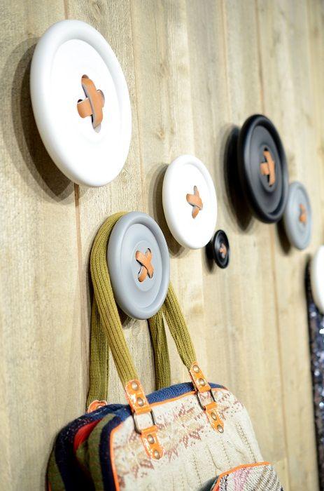 Buttons Wall Hooks
