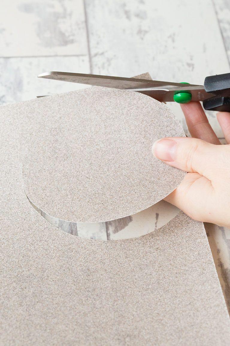 Cardboard Cactus DIY Sandpaper