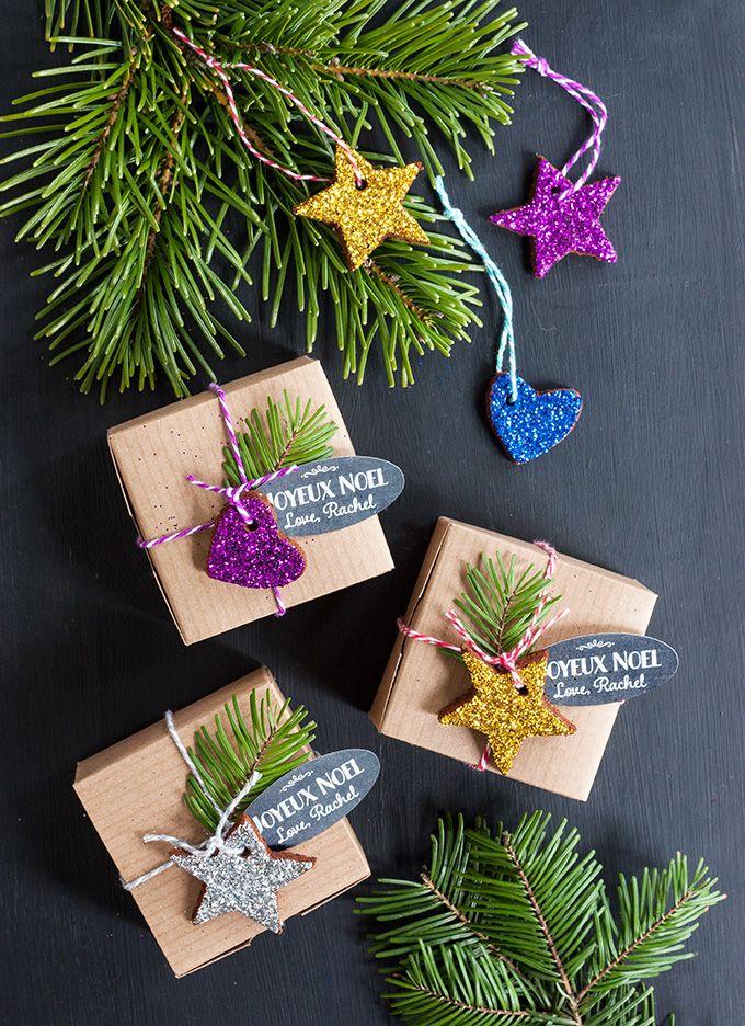 Cardboard Gift Ornaments