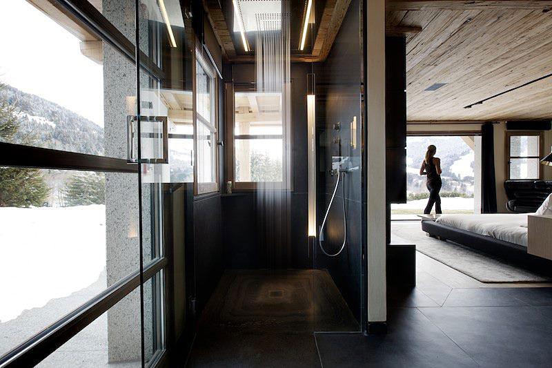 Chalet Cyanella Badezimmer Dusche