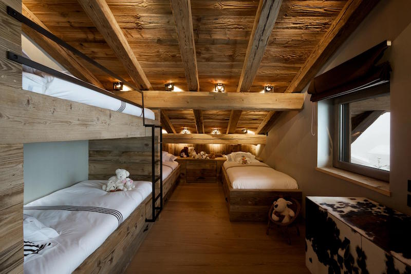... Chalet Cyanella Bunk Bed Room