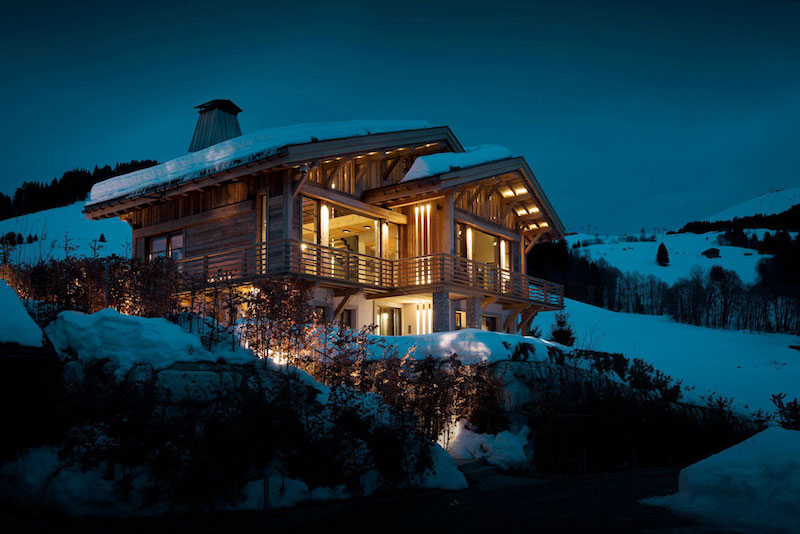 Perfect ... Chalet Cyanella Facade And Architecture