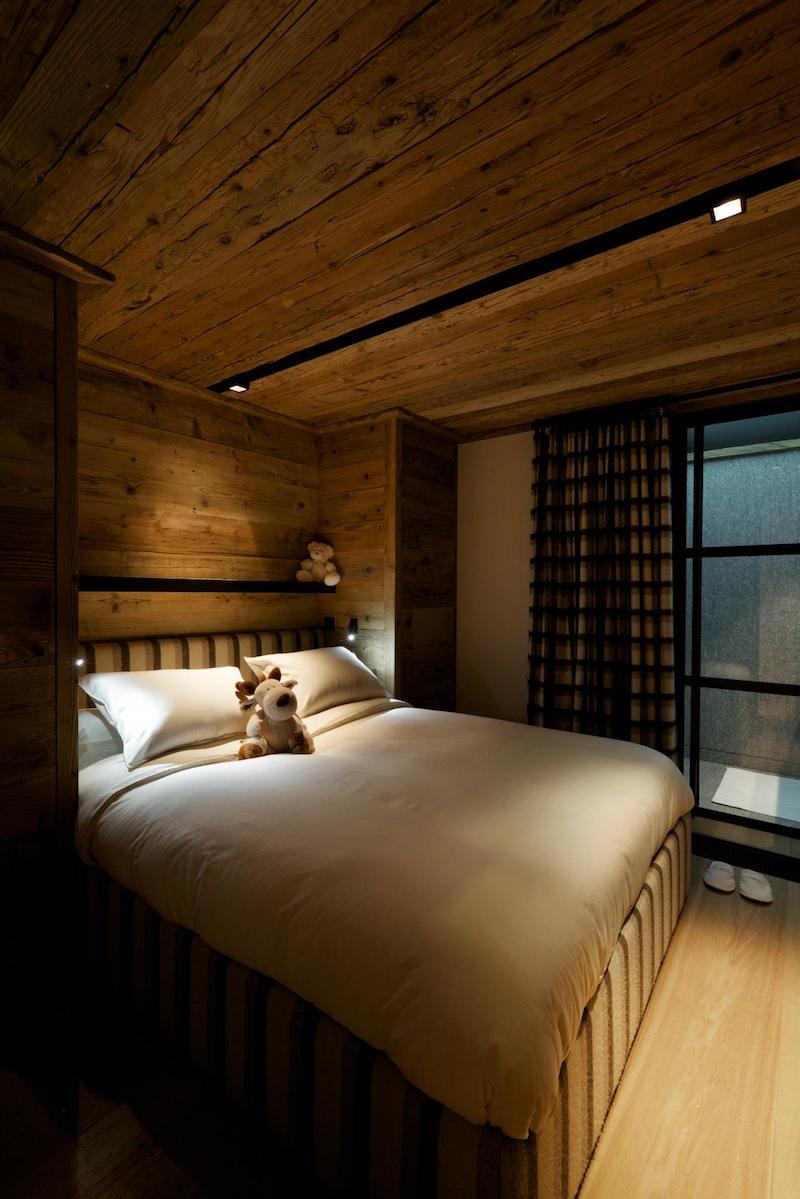 Chalet Cyanella kleines Schlafzimmer
