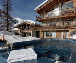 A Ski Chalet With Five Floors Of Cozy Rooms And Panoramic Views