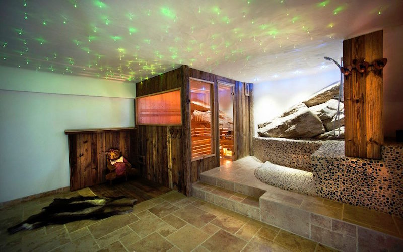 Chalet Le Chardon sauna