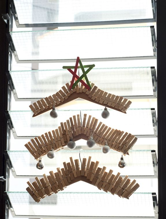 Christmas Tree from Clothespin