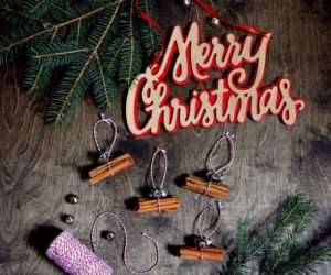 Cinnamon Stick Crafts – The Smell of Christmas In Your Home